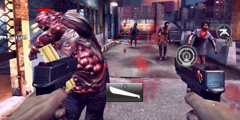 Game zombie shooter android - Dead trigger 2
