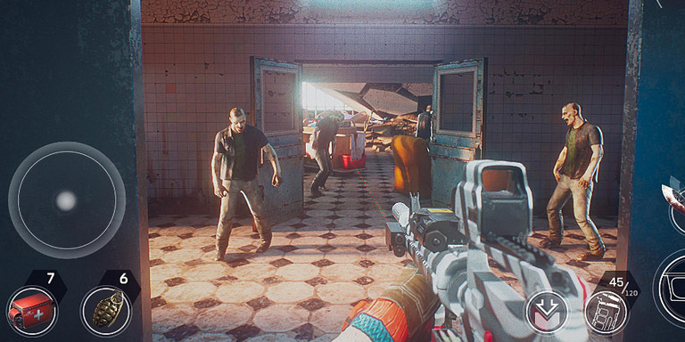 Game zombie shooter Android terbaik