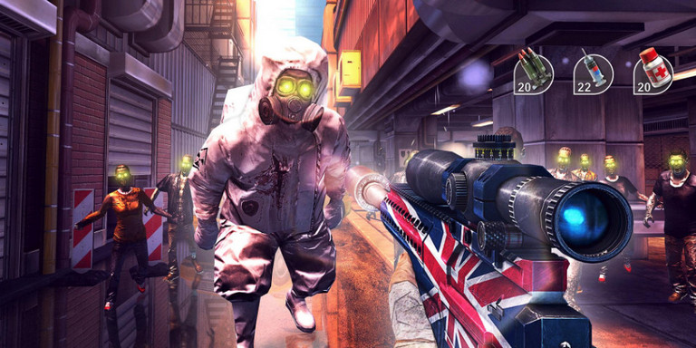 Game zombie shooter android - Unkilled - zombie games fps