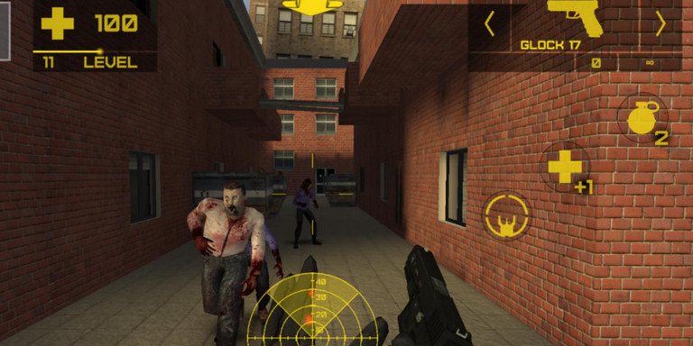 Game zombie shooter android - Zombie Defence 2