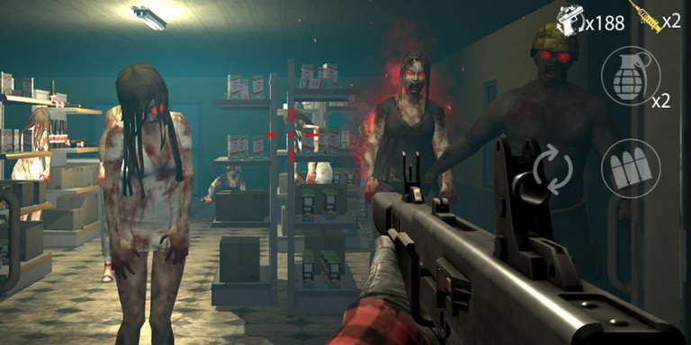 Game zombie shooter android - Zombie Hunter D-Day